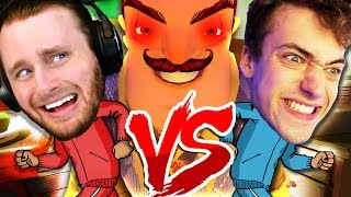 RACE TO BEAT THE GAME!! | Hello Neighbor Alpha 3 Challenge