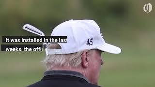 Donald Trump spent 50K to update golf simulator in White House