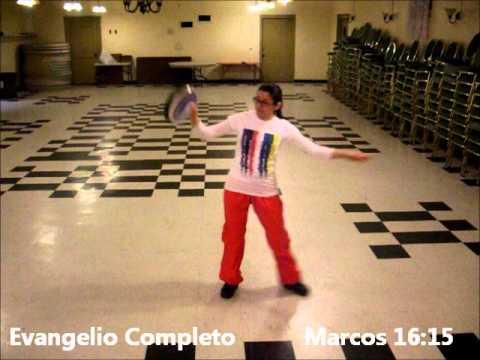 coreografia Pandero Senor eres fiel