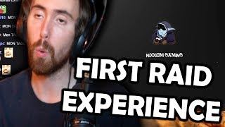 "Asmongold Reactions: ""MY FIRST RAID EXPERIENCE IN WORLD OF WARCRAFT!"" by Nixxiom"