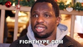 DILLIAN WHYTE EXPLAINS WHY MIKEY GARCIA MADE RIGHT CHOICE TO FACE SPENCE OVER LOMACHENKO