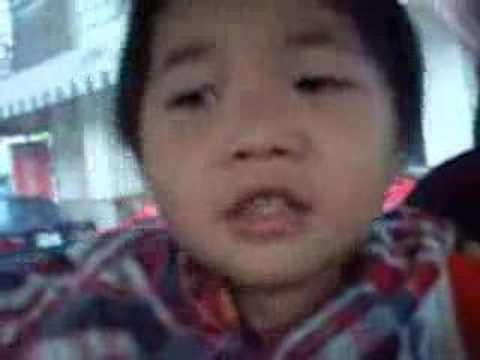 2006-7-7-三歲克拉克唱TONIGHT
