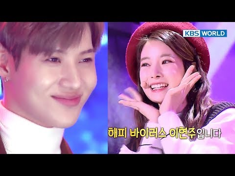 April's former member HyunJoo's cute performance…Taemin,