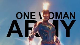 Captain Marvel    One Woman Army