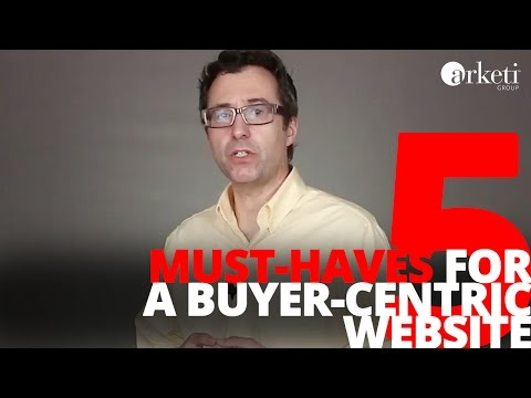 5 Must-Haves for a Buyer-Centric B2B Website