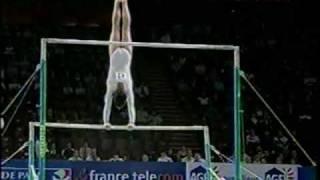 Oksana Chusovitina - 2001 France Telecom Prelims Uneven Bars