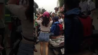 Con gái đánh nhau mới nhất 2019