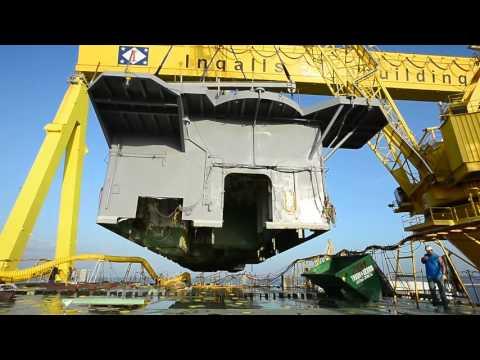 Tripoli (LHA 7) Deckhouse Lift