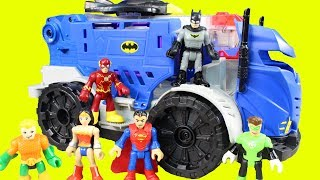 Imaginext Batman R/C Command Center Smashes And Bashes Replicating Joker With The Justice League