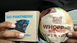 McDonald's Quarter Pounder Vs Burger King Whopper