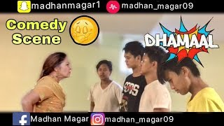 Dhamaal movie | most comedy video | pizza & horse painting | remake comedy scene ever | HD 720p