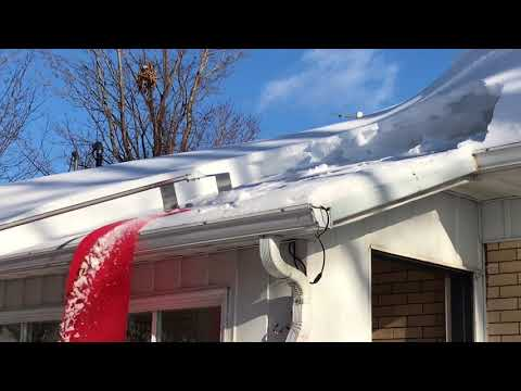 Diy Avalanche Roof Snow Removal Tool Musica Movil