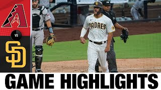 Manny Machado, Wil Myers homer in 5-1 win   D-backs-Padres Game Highlights 7/25/20