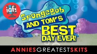 SpongeBob and Tom Kenny's Best Day Ever at the 2011 Annie Awards