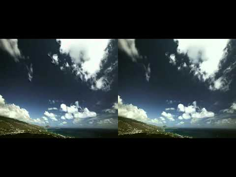 3D Time Lapse Clouds Along The Coast (yt3d:enable=true)
