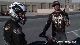 Stunter Sessions- How to Wheelie part 1