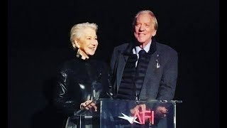 Helen Mirren & Donald Sutherland talk THE LEISURE SEEKER - November 12, 2017
