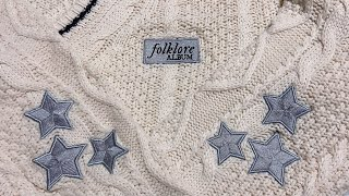 Taylor Swift's Folklore Cardigan Unboxing & Closeup
