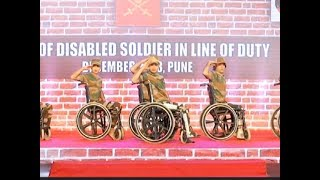 Pune: Indian Army celebrates 'Year of Disabled Soldiers in Line of Duty