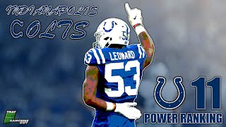 A Deep Dive Into The 2020 Indianapolis Colts | Power Ranking: 11