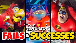 Top 5 Failed & Successful Disney Ride Overlays - Disney World & Disneyland