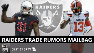 Raiders Trade Rumors Mailbag Ft. Patrick Peterson, Yannick Ngakoue, Jalen Ramsey, Ryan Kerrigan, OBJ