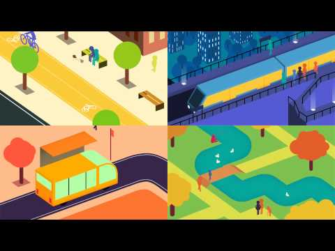 Future of Urban Mobility animation