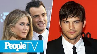 How Jennifer Aniston Is Coping After Split, Ashton Kutcher On Demi Moore Divorce | PeopleTV