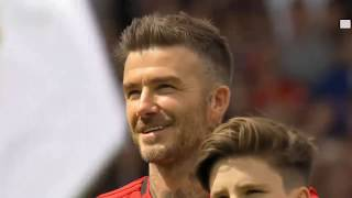 Trận đấu của các huyền thoại Manchester Untied '99 vs Bayern Munich Legends 5 0 Clip bàn thắng