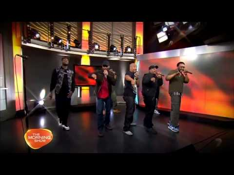 Naturally 7 Performs Wall of Sound on Australia Ch.7 The Morning Show