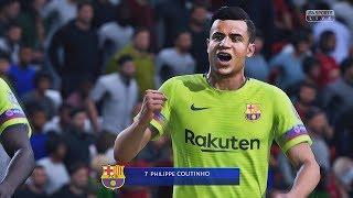 FIFA 19 - Manchester United vs Barcelona | UEFA Champions League | HD PS4 PRO