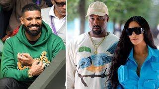 Kanye West Blasts Drake for Allowing Rumors of him Smashing Kim Kardashian to Continue + KEKE song.