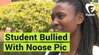Black Girl Bullied With Noose Pic