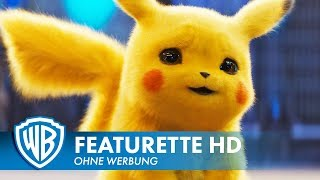 POKÉMON MEISTERDETEKTIV PIKACHU - Casting Featurette #2 Deutsch HD German (2019) HD