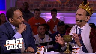 Dabo Swinney will be the new 'King of College Football' if Clemson wins - Paul Finebaum | First Take