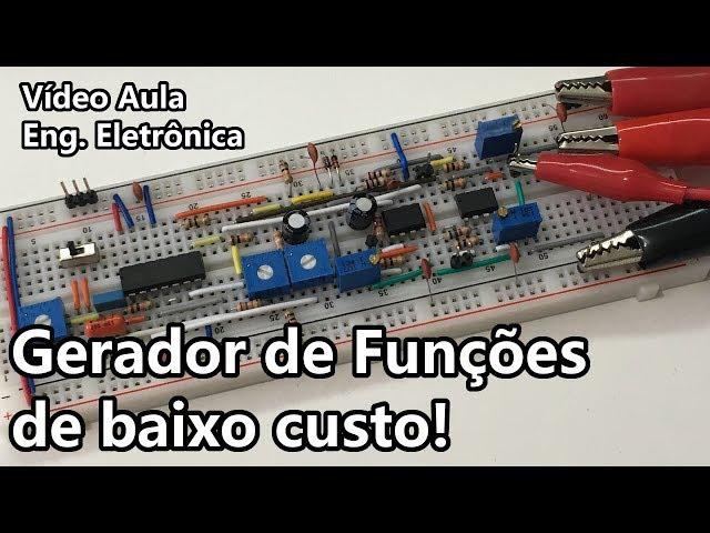 MONTE UM GERADOR DE FUNÇÕES DE BAIXO CUSTO! | Vídeo Aula #300