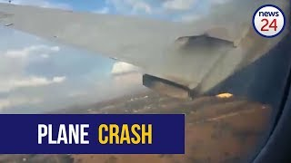 WATCH: Dramatic footage apparently shows moment of Wonderboom plane crash