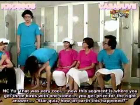 eng sub] 090226 happy together   kim hyun joong, goo hye sun, kim joon 5