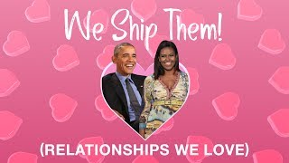 WE SHIP THEM: Michelle and Barack Obama