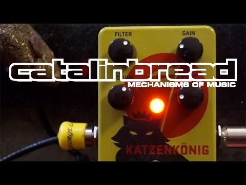 Catalinbread Katzenkonig Rat Bender Distortion/Fuzz Pedal