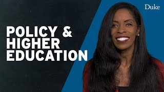 Public Policy & Higher Education | Extra Credit with Deondra Rose video