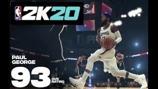 NBA2K20 I BUILD PAUL GEORGE DEMI GOD