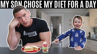 My son chose my diet for a day and this is what happened...