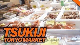 EATING AT THE FAMOUS TSUKIJI FISH MARKET IN TOKYO, JAPAN World Tour | Fung Bros
