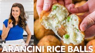 How To Make Arancini Rice Balls  - Italian Classic Recipe