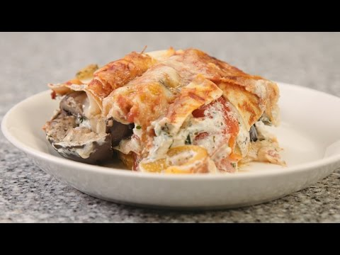 Convection Meals featuring Thermador - Roasted Vegetable Lasagna
