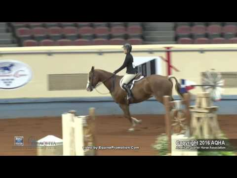 A Judge's Perspective: 2016 AQHYA Equitation Over Fences World Champion