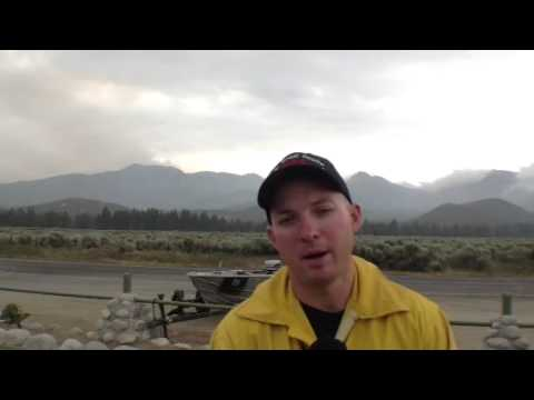 MOUNTAIN FIRE: Thunderstorms Threaten Firefighting Efforts - Smashpipe News Video