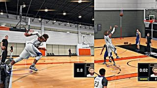 NBA 2K16 MyCAREER - Live Practice #2 Working On Gettin My SPEED Up | Cam Made 70+ Jumpshots In A Row