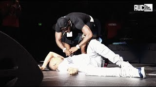 Stunna 4 Passes Out On Stage Da Baby Saves His Life At South Carolina Concert